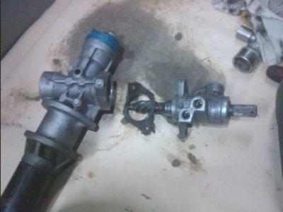 ремонт рулевой рейки мерседес