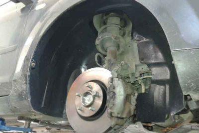 замена задних пружин форд фокус 2