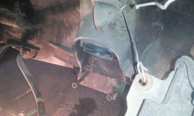 как поменять тросик капота ваз 2107
