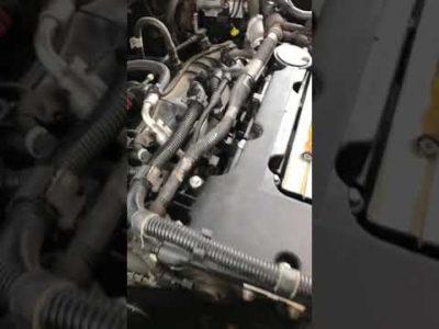 троит двигатель шевроле круз