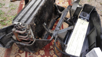 ауди 80 б3 замена радиатора печки