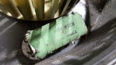 печка работает только на 4 скорости форд фокус 2
