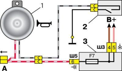электросхема на ваз 2107