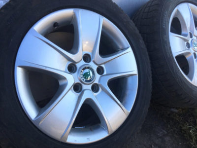разболтовка колес шкода октавия